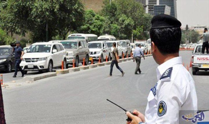 عراقي يغرم شرطة المرور في أربيل