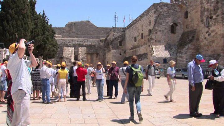 ثلاثة ملايين سائح زاروا فلسطين في 2018