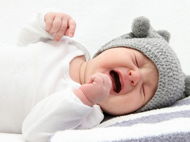 علاج المغص عند الأطفال الرضع