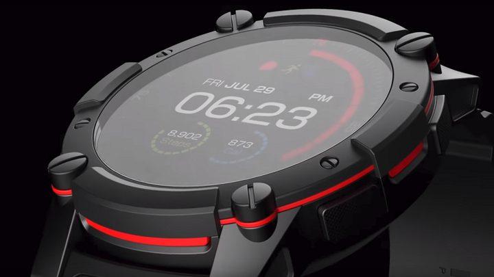 """""""Matrix"""" تطرح ساعة ذكية لا تحتاج للشحن"""