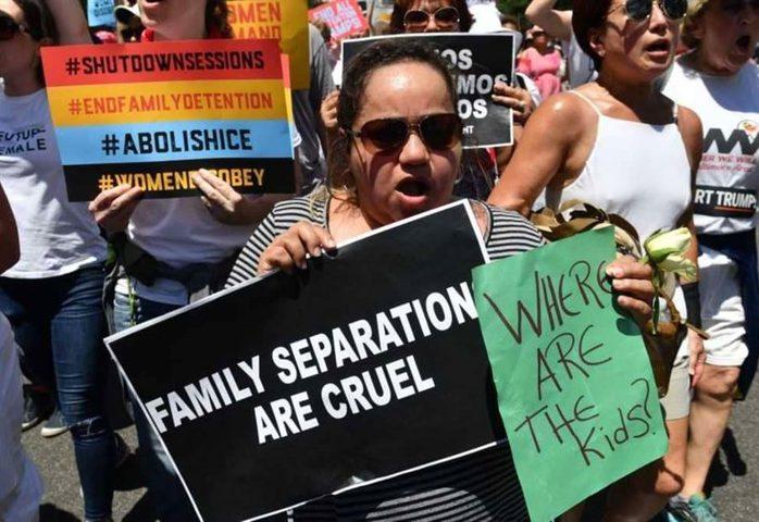 """تفريق العائلات في الولايات المتحدة.. تقرير """"يكشف المستور"""""""