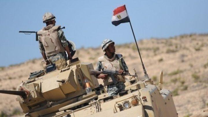 مقتل 14 مسلحا وضبط متفجرات وعبوات ناسفة في سيناء