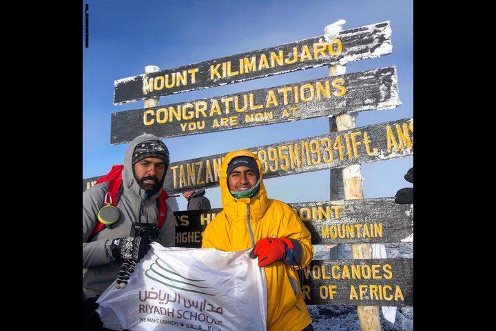صبي في الـ14 من عمره : أصغر سعودي يصل لأعلى قمة في أفريقيا