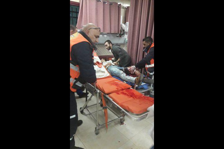 اصابة خلال اقتحام الاحتلال المنطقة الشرقية من مدينة نابلس