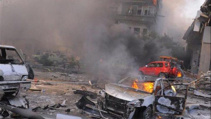المعارضة السورية تتبنى تفجيرا أوقع قتلى وجرحى في جنوب دمشق