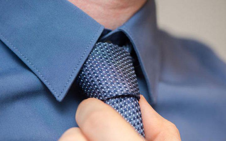 مخاطر ارتداء ربطة العنق للرجال