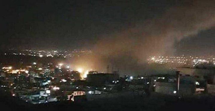 الاحتلال يقصف سوريا بعشرات الصواريخ