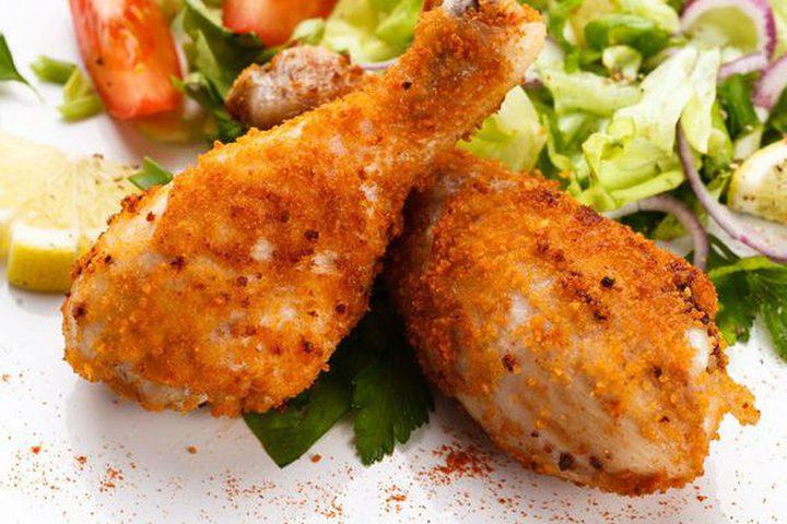 أفخاذ الدجاج بالبف باستري