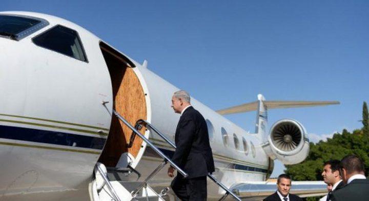 الخرطوم تسمح لطائرة نتنياهو التحليق فوق جنوب السودان