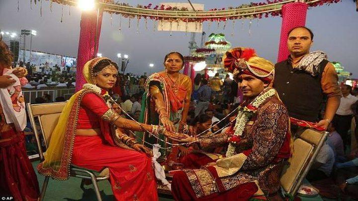 عروس تصاب بالرصاص أثناء زفافها وترفض إلغاء الحفل