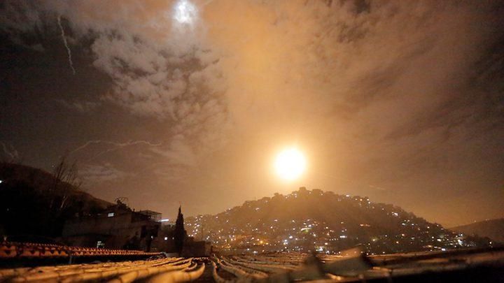 11 قتيلا سوريا والمضادات السورية اسقطت 30 صاروخا