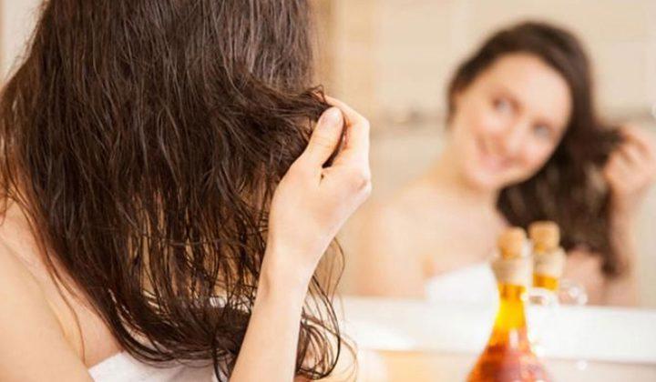 اعتمدي حمام الزيت لعناية مضاعفة بشعرك في الشتاء