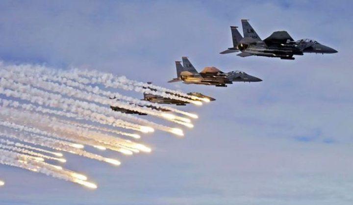 طائرات الاحتلال تشن غارات وهمية على غزة
