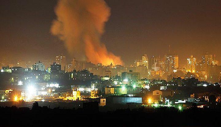 طائرات الاحتلال تستهدف موقعا للمقاومة شمال القطاع