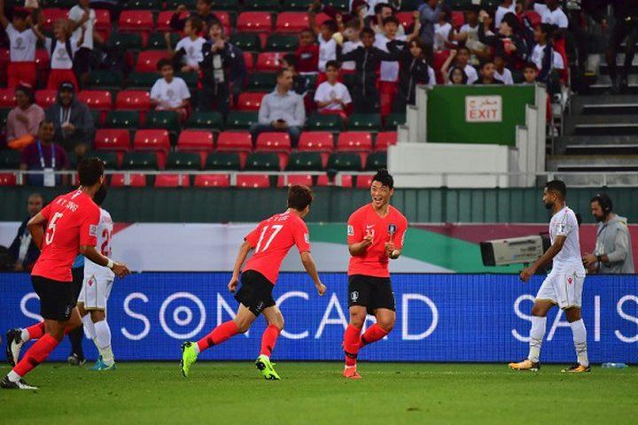 كوريا الجنوبية تهزم البحرين وتبلغ ربع نهائي كاس أسيا