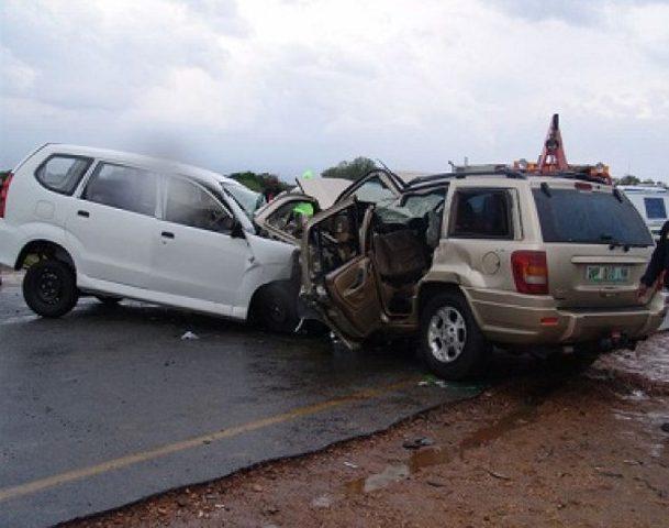 حادث سير على طريق وادي النار يخلف 7 اصابات