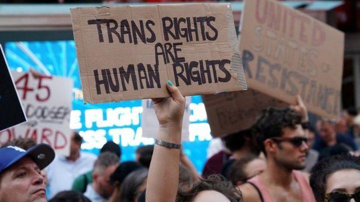 حظر الأشخاص المتحولين جنسيا من الخدمة في الجيش الأمريكي