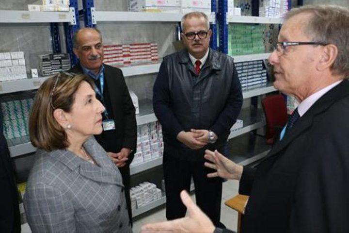 السفارة الإسبانية تمول التكاليف التشغيلية لمركزي صحة لأونروا