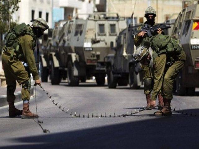 الاحتلال ينصب حاجزا على مدخل بيت فجار جنوب بيت لحم