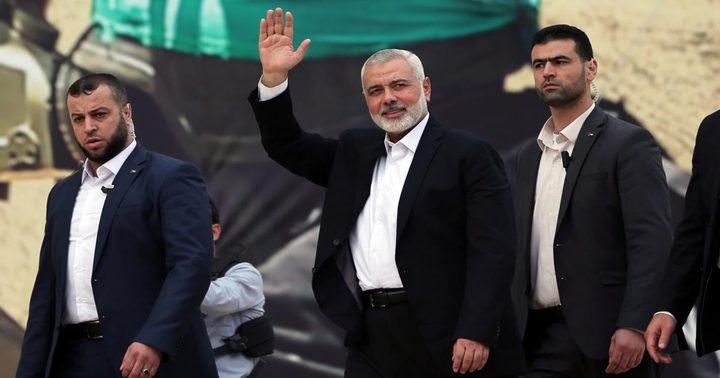 حماس: تلقينا دعوة رسمية لزيارة موسكو مطلع الشهر القادم