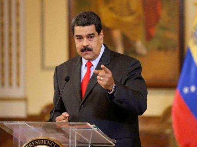 مادورو: العقوبات الأمريكية غير قانونية