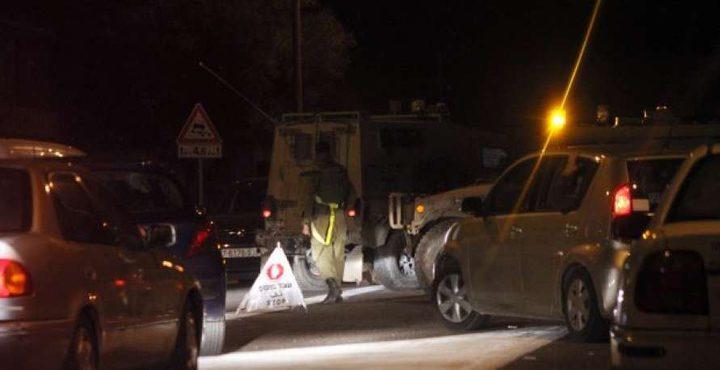 الاحتلال ينصب حاجزا عسكريا جنوب بيت لحم