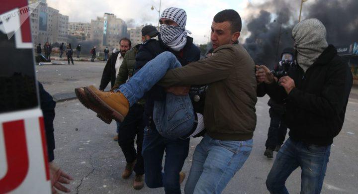 إصابة شاب بمواجهات مع الاحتلال في العيسوية