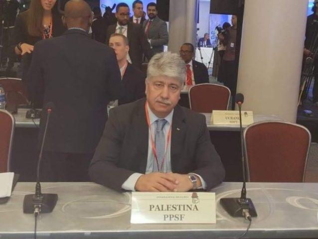 مجدلاني يدعو الدول لاعادة النظر بالاتفاقيات مع إسرائيل
