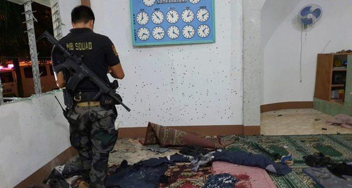 قتيلان جراء هجوم بقنبلة استهدف مسجدا جنوب الفيليبين