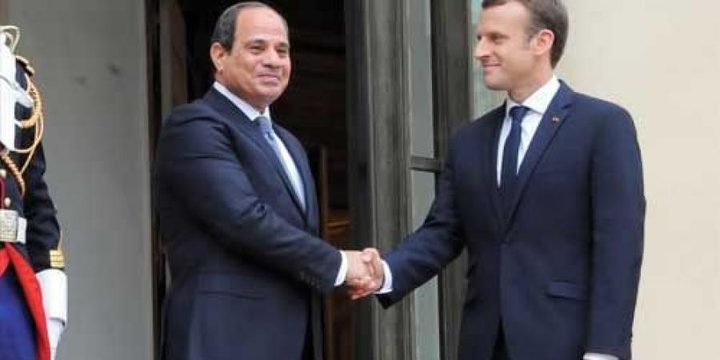 التأكيد علىى الحوار ضد التطرف في اختتام زيارة ماكرون للقاهرة