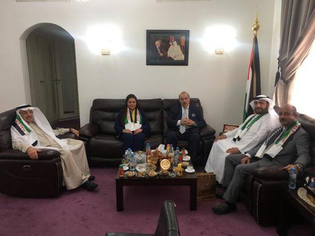 البرلمان البحريني يؤكد تفعيل الدور النيابي لدعم دولة فلسطين