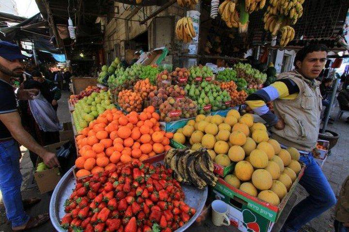 ارتفاع أسعار المنتج في فلسطين للعام 2018