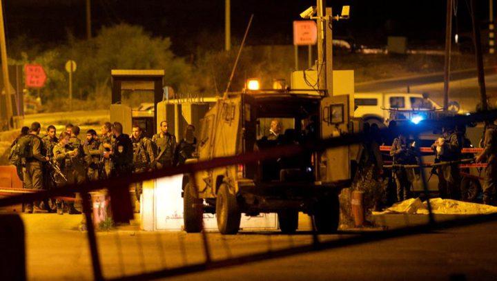الاحتلال يشدد من إجراءاته العسكرية على حاجز زعترة
