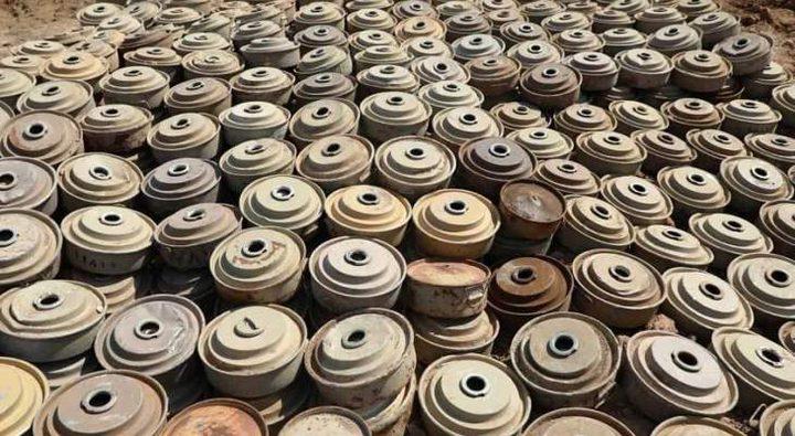 إبطال أكثر من 7 آلاف لغم في اليمن