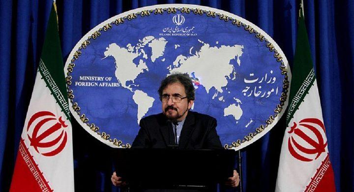 إيران: مخاوف الاتحاد الأوروبي من التجارب الصاروخية غير بناءة
