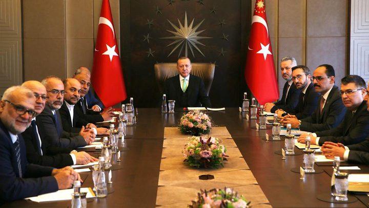 لقاء يجمع أردوغان بفلسطينيي 48 ويثير ضجّة إسرائيل