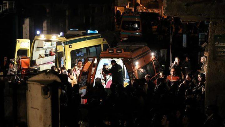 مصرع 3 بينهم سائحة ألمانية بانهيار عقار جنوبي مصر