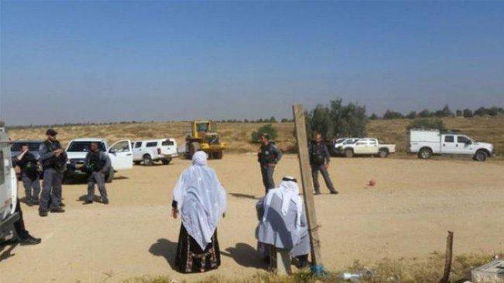 الاحتلال يهدم مساكن قرية العراقيب للمرة (140)