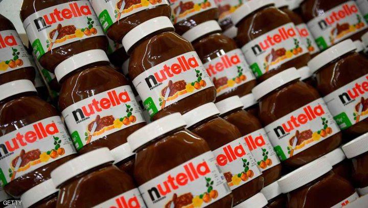 """تقرير أوروبي يحذر من مكون خطير في """"نوتيلا"""""""