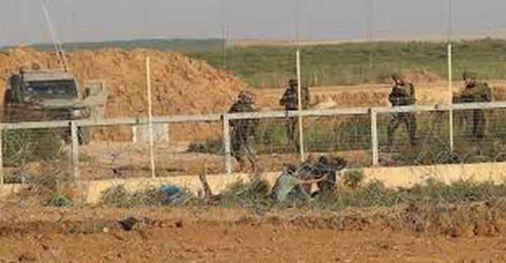 الاحتلال يطلق النار صوب مجموعة شبان شرق قطاع غزة