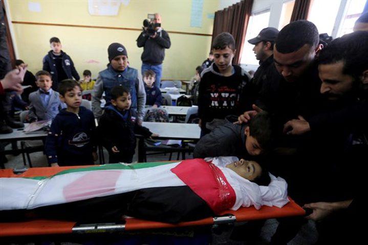 اليونيسف تطالب اسرائيل بإنهاء استهداف الاطفال