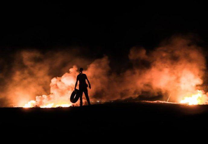 انطلاق فعاليات الارباك الليلي شرق غزة