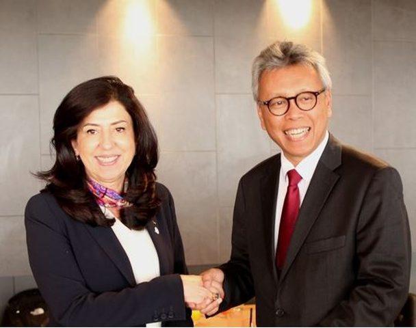 عودة: اتفاق فلسطيني اندونيسي على رفع حجم التبادل التجاري