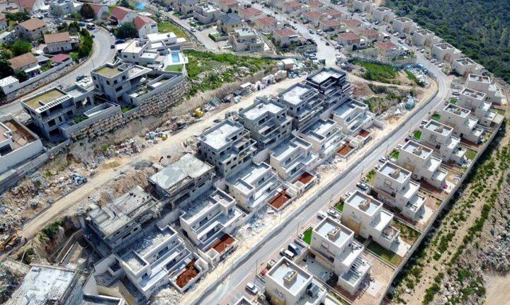 الاحتلال يشرعن مباني استيطانية على أراض بملكية فلسطينية خاصة