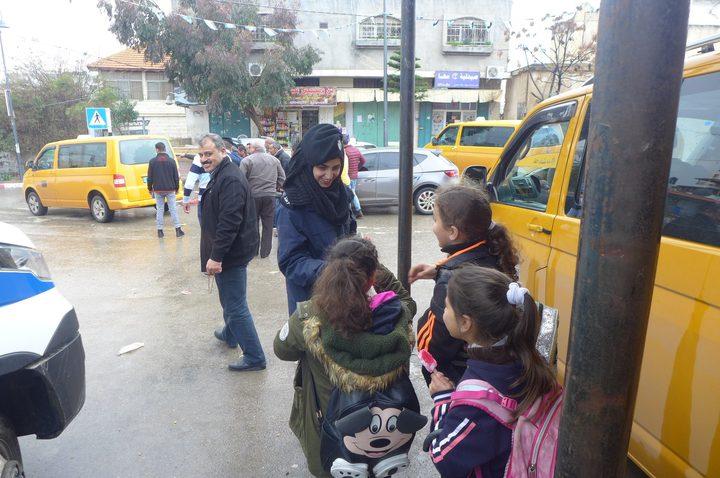 المركز الشرطي المتنقل يلتقي المواطنين في بلدة برقين