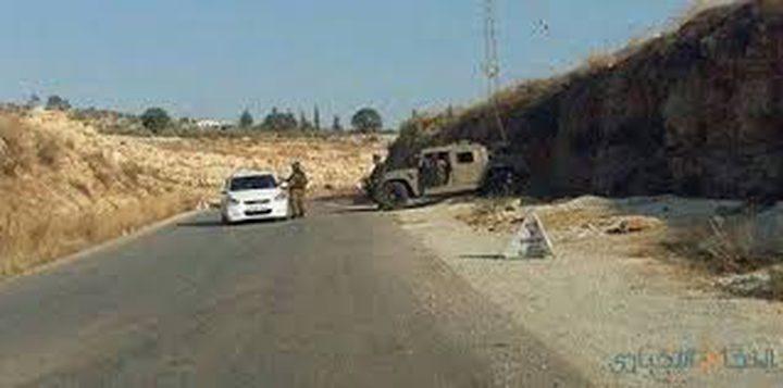 الاحتلال يغلق طريق رام الله الجلزون
