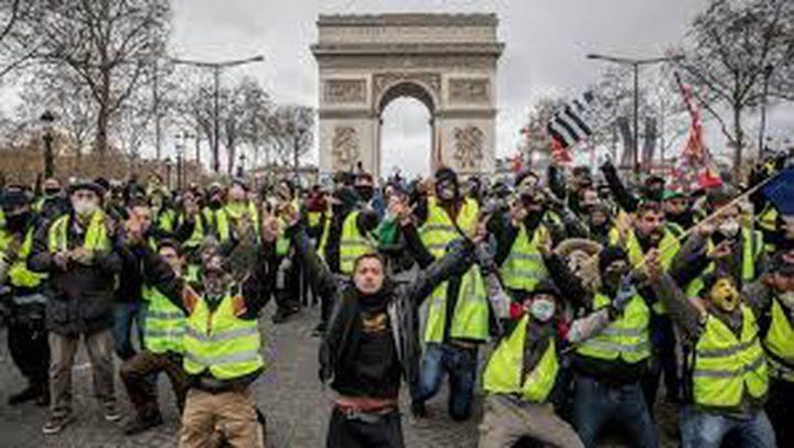 فرنسا.. ألف و796 حكما بالسجن لمتظاهري السترات الصفراء