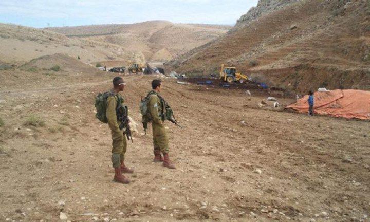 إخطار 50 عائلة في الأغوار بالاخلاء بحجة التدريبات العسكرية