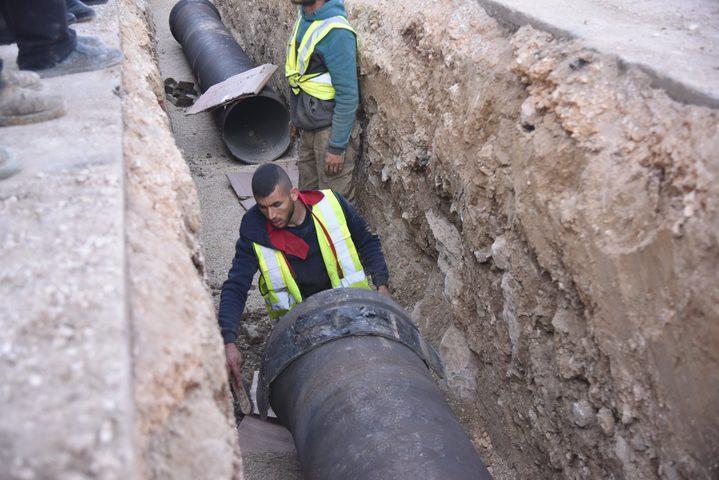 """مشروع """"شريان الحياة"""" لتأمين مياه نابلس للسنوات العشر القادمة"""