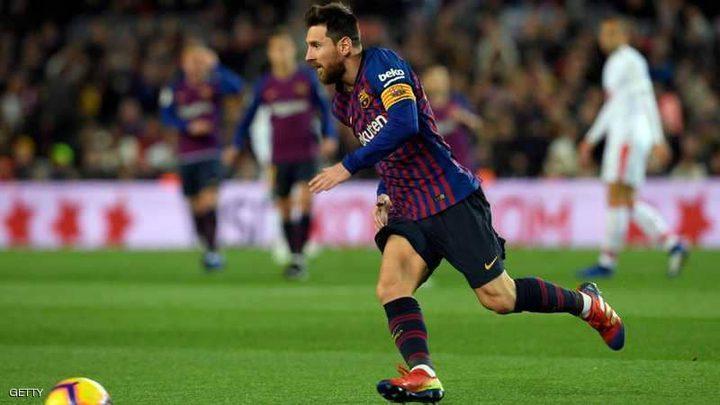 برشلونة يطمئن جماهيره بعقد جديد مع ميسي